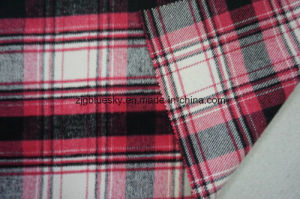 Wool Fabric for Overcoating with Plaid pictures & photos