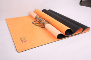 Natural Rubber Yoga Mat Custom Printed Eco-Friendly pictures & photos