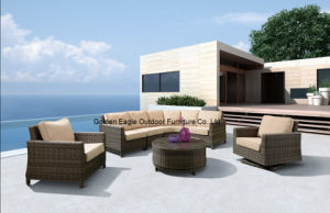 Luxury Sectional Outdoor Rattan Sofa Set for Wholesale