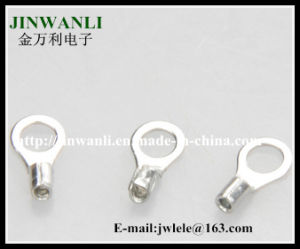 2.5-4mm2 AWG14-12 Copper Non Insulated Ring Electric Wire End Terminal pictures & photos