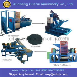 High Efficiency Tyre Shredder Machine /Tire Recycling Machine Used pictures & photos