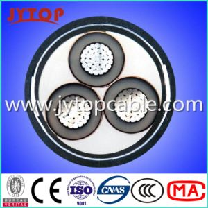 10kv Aluminum Cable XLPE Insulated Cable 3X70mm pictures & photos