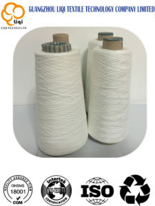 Low Elastic Core-Spun Polyester Rope Twisted Textile Sewing Yarn pictures & photos