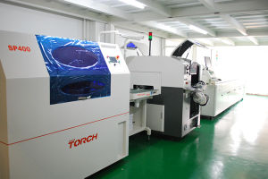 LED Automatic Solder Paste Printer Sp400 pictures & photos