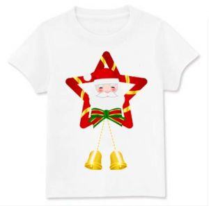 T-Shirt with Nice Printing for Christmas Promotion