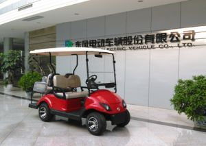 Smart&Multifunctional Electric Vehicle Golf Cart with 4 Seats pictures & photos