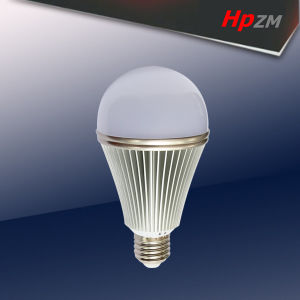 SMD Light Aluminum LED Bulb with E27/B22 pictures & photos