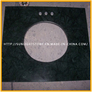 Polished Building Material India Verde Guatemala/Snow Green Marble for Slabs or Tiles on Sale pictures & photos