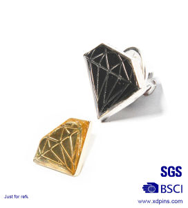 Customized Metal Diamond Lapel Pin for Promotion (XD-0707-17) pictures & photos