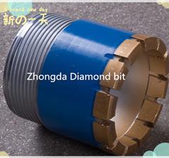 Impregnated Diamond Core Bit D an Dcdma Size Nq, Hq, Pq Core Bit pictures & photos