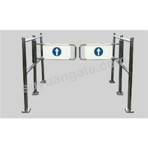 Supermarket Metal Gate, Security Swing Gate, Mechanical Gate, Barrier Gate pictures & photos
