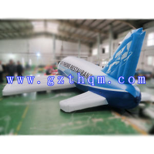 Airplane Model Balloon for Advertising/PVC Boeing Aircraft Model for Advertising pictures & photos