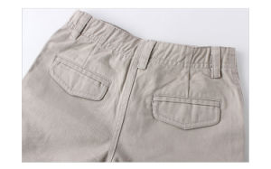 100% Cotton Children Garment Cargo Shorts for Boys pictures & photos