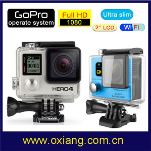 2015 Newest Full HD WiFi Sport Action Camera 170 Degree Wide Angle Sport DV Camera pictures & photos