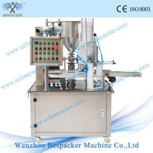 Rotary Type Automatic Water Cup Filling and Sealing Machine pictures & photos