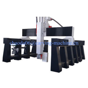 Cheap CNC Machine 5 Axis, 5-Axis CNC Machine, 5 Axis CNC Wood Carving Machine Price pictures & photos