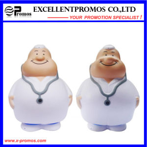 Customized Logo People Shape PU Stress Doctor Toy (EP-P58301) pictures & photos