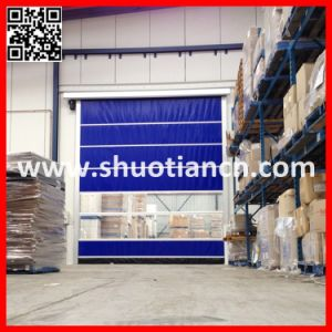 Rapid Roll Electric Speed Warehouse Door(St-001 pictures & photos