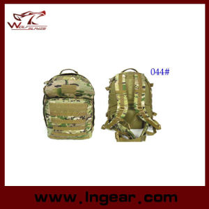 Army Tactical Camouflage Backpack for Hiking Bag Airsoft 044# pictures & photos