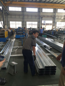 Construction Galvanized Metal Building Steel C Channel for Warehouse pictures & photos