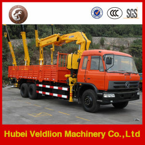 5-10tons Knuckle Boom Crane Truck pictures & photos