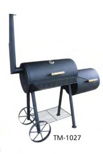 BBQ Charcoal Grill with Wheels (TM-1027) pictures & photos