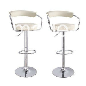 PU Leather Barstools Chair Adjustable Counter Swivel Pub New pictures & photos
