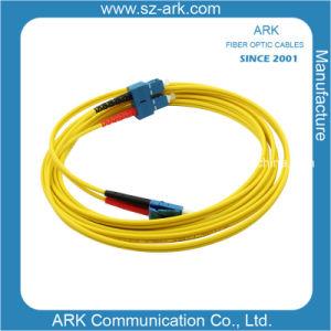 LC-Sc Singlemode Duplex Optical Fiber pictures & photos