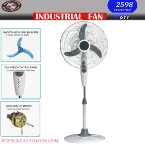 Electric Stand Fan with High Velocity Fan pictures & photos