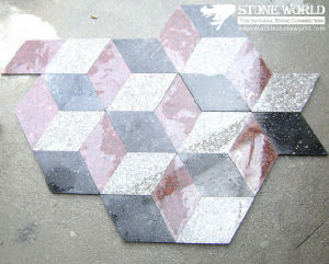 Newstar Granite Interlock Stone Paver Tiles for Outdoor (IL04) pictures & photos