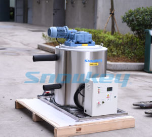 F25 2.5t/Day Snowkey Commercial Fish Processing Flake Ice Machine Manufacturer pictures & photos