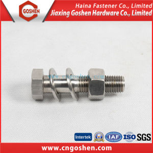 High Quality Stainless Steel B8 Hex Bolt with Nut pictures & photos