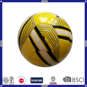 Promotional Shining Leather Soccer Ball pictures & photos