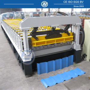 Automatic Metal Roof Cold Roll Forming Machine for Warehouse pictures & photos