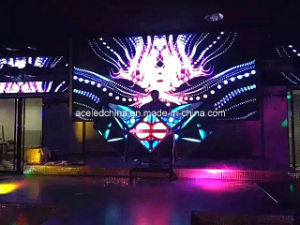 P3.91 Indoor LED Video Screen, RGB Portable LED Video Wall pictures & photos