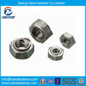 Stock DIN929 Stainless Steel Weld Nut Hex Weld Nut pictures & photos