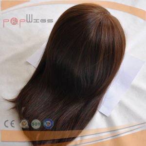 Untouched Virgin Remy Hair Brown Color Women Topper Toupee pictures & photos