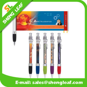 Popular Banner Advertising Custom Logo Pens with Hot Sale (SLF-LG036) pictures & photos