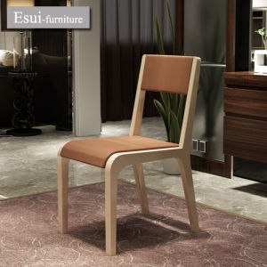 Solid Wood Dining Chair of Home Furniture with Stoving Varnish (CY021)