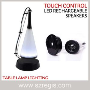 LED Lamp Portable Mini USB Sound Loudspeaker with Touch Control pictures & photos