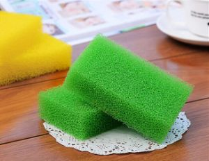 Colorful Dishes Cleaning Products, Cleaning Sponge pictures & photos