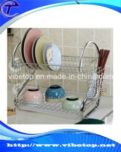 Shenzhen Factory Supply Kitchen Stainless Steel Dish Rack pictures & photos