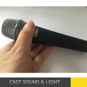 Wired / Corded Beta57A Microphone Condenser pictures & photos