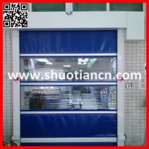 Speedy Fast Action PVC Plastic Roll up Shutter Door (ST-001) pictures & photos