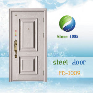 China Newest Develop and Design Single Steel Security Door (FD-1009) pictures & photos