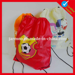 Printed Small Satin Drawstring Bags pictures & photos