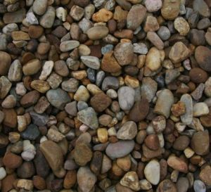 Polished Stone Red Pebble Stone pictures & photos