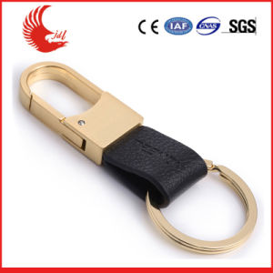 Welcomed Leather Fashion Keychain Factory pictures & photos