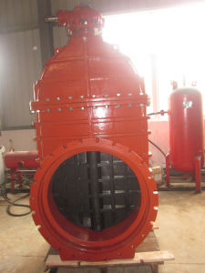 Awwa C509 Resilient Seated Gate Valve, Gearbox with Top Flange pictures & photos
