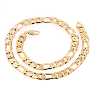 Xuping Fashion Hotsales Gold Jewelry Alloy Necklace Chain for Men --40618 pictures & photos